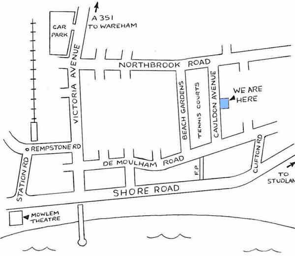 Map to find Glenlee